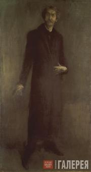 Whistler James McNeill. Brown and Gold (Self-Portrait). 1895–1900
