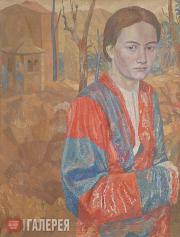 Портрет Л.Н. Глебовой. 1939
