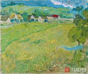 """Vincent van Gogh. """"Les Vessenots"""" in Auvers. 1890"""