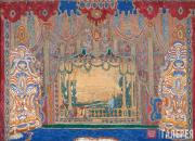 Golovin Alexander. A General View of the Stage. 1910