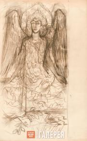 Goncharova Natalia. Swan Princess. 1922-1926