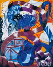Goncharova Natalia. Ostrich Feathers and Bands. 1912