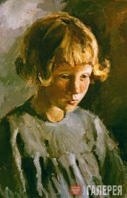 Gorsky Andrei. Valya Gerasimova from Pereslavl-Zalessky. 1949