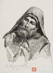 Yakunchikova Maria. A Monk. 1887