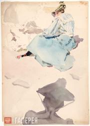 Якунчикова Мария. За этюдом. 1889–1890-е