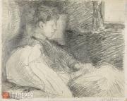 Yakunchikova Maria. Dreaming. 1890s
