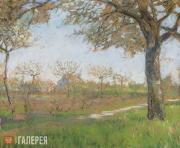 Yakunchikova Maria. Meudon in Spring. Spring Landscape. 1890s