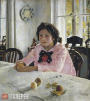 Serov Valentin. Girl with Peaches. 1887