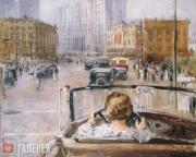 Pimenov Yury. New Moscow. 1937