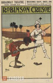 "John HASSALL. ""Robinson Crusoe"" Pantomime. 1900s"