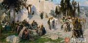 Polenov Vasily. He That Is Without Sin Among You