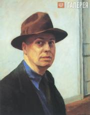 Hopper Edward. Self Portrait. 1925-1930