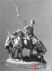 Запорожец после битвы. 1873