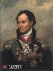 Уильям Бичи. Портрет донского атамана Матвея Платова. 1814
