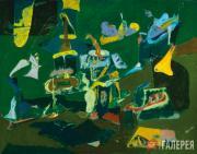 Gorky Arshile (Vosdanig Adoian). Dark Green Painting. 1948