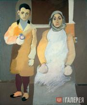 Gorky Arshile (Vosdanig Adoian). The Artist and His Mother. 1926-1936