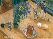 Petrov-Vodkin Kuzma. Morning Still-life. 1918