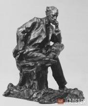 Trubetskoi Paolo. Portrait of Isaac Levitan. 1899
