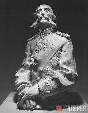 Trubetskoi Paolo. Portrait of Prince Alexander Meshchersky. 1895