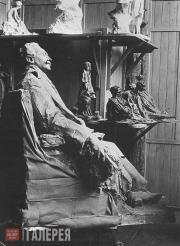 Trubetskoi Paolo. Statue of Robert de Montesquieu (1907)
