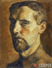 Chernyshev Nikolai. Self-portrait. 1922
