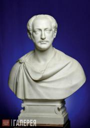 Луиджи Бьенеме. Император Николай I. 1846