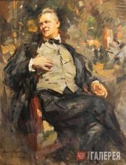 Korovin Konstantin. Portrait of Feodor Chaliapin. 1921