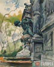 Alexander Siegfried Borchardt Levy-Benois di Stetto. Sculptural Motif. 1953