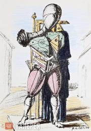 Giorgio DE CHIRICO. Manichino (The Mannequin). 1964