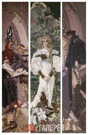 Vrubel Mikhail. Faust. 1896