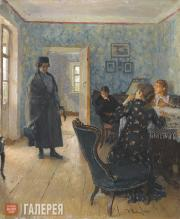 """Repin Ilya. """"They Did Not Expect Him"""". 1883-1898"""