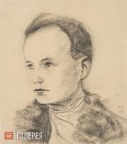 Chekrygin Vasily. Self-portrait. 1918
