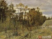 Serov Valentin. Autumn Evening. Domotkanovo. 1886