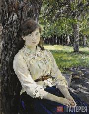 Serov Valentin. Girl in the Sunlight. 1888
