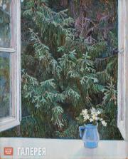 Якунчикова Мария. Окно. 1896