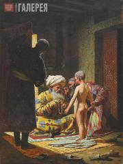 Верещагин Василий. Продажа ребенка-невольника. 1872