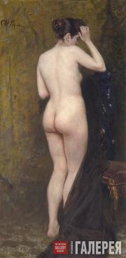 Repin Ilya. Nude Model. Мid-1890s