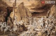 Бруни Федор. Медный змий. 1839