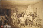 Fedotov Pavel. Inquest into the Demise of Fidelka. 1844