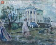 Борисов-Мусатов Виктор. Призраки. 1903