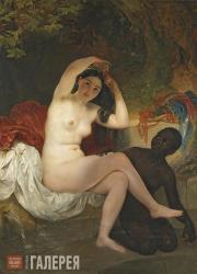 Karl Briullov. Bathsheba. 1832