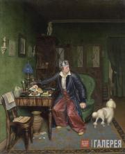 Fedotov Pavel. The Aristocrat's Breakfast. 1849-1850
