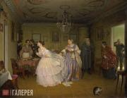 Fedotov Pavel. The Major's Marriage Proposal. 1848