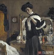 Serov Valentin. Portrait of Henrietta Girshman. 1907