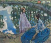 Борисов-Мусатов Виктор. Водоем. 1902–1903