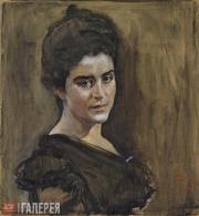 Serov Valentin. Portrait of Sofia Lukomskaya. 1900