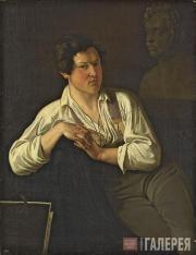 Scotti Mikhail. Portrait of N.S. Pimenov. 1835