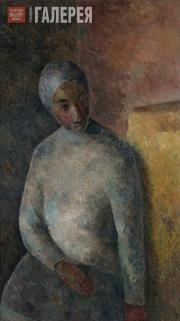 Falk Robert. Woman with a White Bandage. 1922-1923