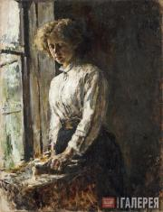 Serov Valentin. At the Window. 1886