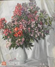 Golovin Alexander. Phloxes. 1911